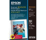 Epson Premium Semigloss Photo Paper 10x15, 50 Sheets 251 g