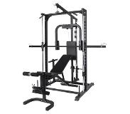 Gorilla Sports Multi Smith Machinemet Fitnessbank -Full body training
