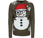 Only & Sons Snowman kersttrui
