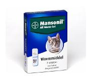 Mansonil All Worm Tablet Cat Small - Anti wormenmiddel