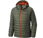 Columbia Jas Columbia Men Powder Lite Hooded Peatmoss Heather