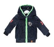 B. Nosy B-Nosy baby boys fur hooded jacket