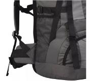 VidaXL Backpack met regenhoes XXL 75 L antraciet