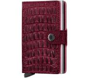 Secrid Portemonnee Secrid Miniwallet Nile Red