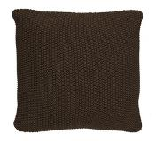 Marc O'Polo Sierkussen Marc O'Polo Nordic Knit Earth Brown Katoen (50 x 50 cm)