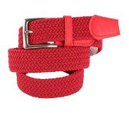 Suitable Geweven Riem Rood