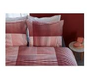 Beddinghouse Dekbedovertrek Beddinghouse Graham Coral Flanel-240 x 200 / 220 cm | Lits-Jumeaux
