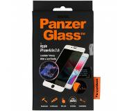 PanzerGlass CamSlider Privacy Screenprotector voor iPhone 8 / 7 / 6s / 6 - Wit