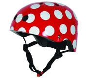 Kiddimoto Red Dotty Helm-53 - 58 cm