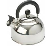 Vango Fluitketel Vango 1.6L Stainless Steel Kettle With Folding Handle Silver