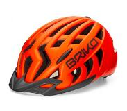 Briko Fietshelm Briko Aries Sport Matt Orange Fluo