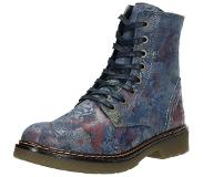 Vicarious Visions dames veterboots Blauw