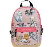 Pick & Pack Cute Kittens Backpack S dusty pink