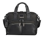 Tumi Alpha Bravo Albany Slim Commuter Brief black
