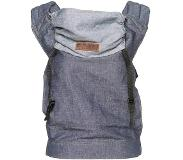 Onbekend ByKay - Babydrager - Click Carrier Classic - Dark Jeans -draagzak bab