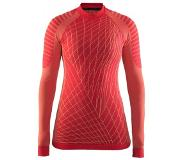 Craft Active Intensity Cn Ls W 1905333 - Sportshirt - Poppy/Sprint - Dames - Maat M