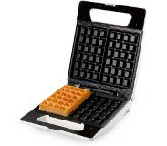 Domo DO9052W Wafelijzer Brusselse wafels 4 x 6