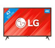 "LG 43UK6300 43"" 4K Ultra HD Smart TV Wi-Fi Zwart, Grijs LED TV"