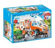 Playmobil - Ambulance with Flashing Lights (70049)