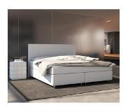 DELIFE Boxspring-bed Cloud 180x200 cm wit topper en matras, Bedden