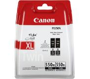 Canon PGI-550 XL PGBK zwart Twin Pack