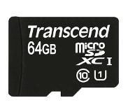 Transcend 64 GB micro SDHC UHS-I card - Read up to 90MB/s &