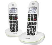 Doro PhoneEasy 110 Duo - Wit