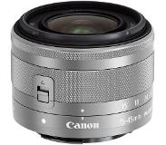 Canon EF-M 15-45mm f/3.5-6.3 IS STM Zilver