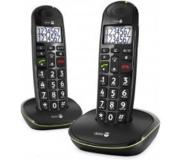 Doro PhoneEasy 110 Duo - Zwart