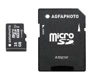 Agfa AgfaPhoto Mobile High Speed 16GB MicroSDHC Class 10 + Adapte