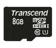 Transcend 8 GB micro SDHC UHS-I card - Read up to 90MB/s & W