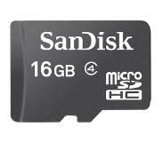 SanDisk 16GB Micro SDHC + SD Adapter