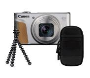 Canon Powershot SX740 HS Travel kit - Zilver