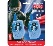 Cobra HM230B, walkie talkie, Hero Police/Swat, 2-pack, blauw