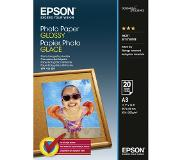 Epson Photo Paper Glossy A 3 20 Sheets 200 g