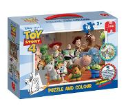 Jumbo ToyStory 4 - Puzzle & Colour