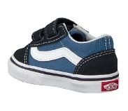Vans Old Skool V Sneakers Kinderen - Navy