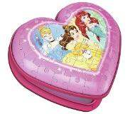 Ravensburger Hartendoosje Disney Princess - Girly Girl 3D puzzel - 54 stukjes