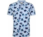 Knowledge cotton apparel Polo Skyway Flower