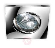 PAMALUX Moderne downlight Karu, chroom