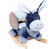 Nattou Rocker Alex the donkey wipstoeltje Multi kleuren