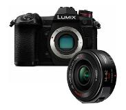 Panasonic Lumix DMC-G9 zwart + 14-42mm powerzoom ASPH
