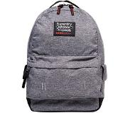 Superdry Montana Hollow Backpack light grey marl Grijs