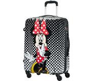 American Tourister Disney Legends Spinner 65 Alfatwist minnie mouse polka dots Harde Koffer Zwart