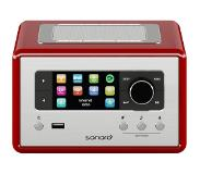 Sonoro Relax Internet Radio DAB+ SO810 Red
