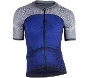UYN Biking Alpha OW Blouse korte mouwen Heren, medieval blue/sleet grey L 2019 Wielershirts