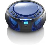 Lenco SCD-550 Blauw CD radio