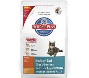 Hill's Pet Nutrition Science Plan Feline Indoor Cat - Adult - Kip - Kattenvoer - 4 kg