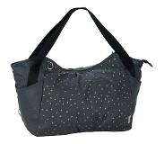 Lassig Tweeling Luiertas Twin Bag – Triangle Dark Grey