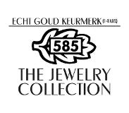 The Jewelry Collection Klapoorringen Diamant 0.11 Ct. - Geelgoud